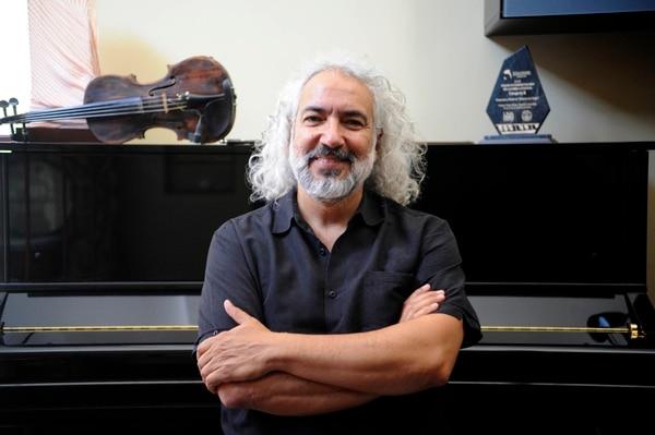 Manuel Obregón tocará junto al marimbista William Ramos. Foto: Archivo/Diana Méndez