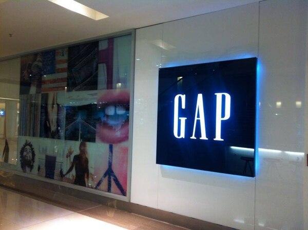 Imagen de archivo de la apertura de la primera tienda Gap en Multiplaza Escazú el 10 de octubre del 2013. Fotografía: Archivo GN.