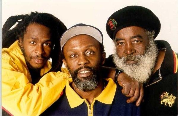 Leyendas: David Hinds, Selwyn Brown y Grizzly Nisbett fueron piedras angulares en la formación de la banda inglesa de reggae Steel Pulse. Foto: Archivo.