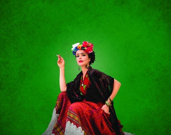 Flora Martinez investigó a fondo durante tres años la vida de la pintora mexicana Frida Kahlo para lograr que su interpretación fuera la más cercana a la realidad. Foto: Raúl Higuera/Cortesía Jaika