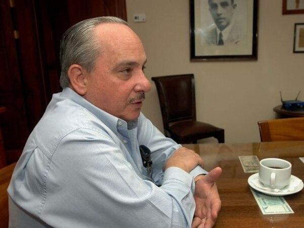 Alberto Dent, nuevo presidente del Conassif. Foto: Alonso Tenorio.