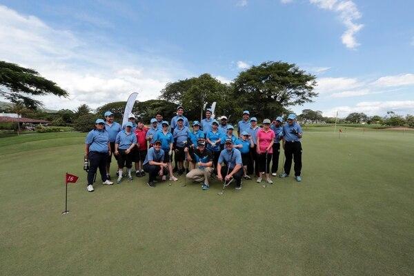 Personas de todas las edades y con distintas capacidades encabezan la delegación de Costa Rica Challenge Golf, que se creó hace 14 años en el país, y que tiene a su haber una amplia representación internacional. Fotografía: Alonso Tenorio