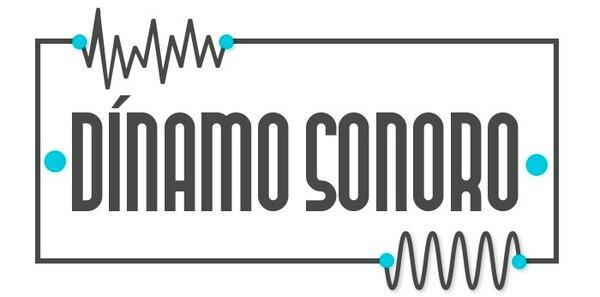Logo oficial de Dínamo Sonoro, la propuesta de subvenciones de ACAM y AEI. Cortesía de ACAM