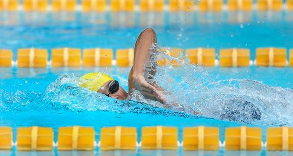 El cantón belemita lidera el medallero en natación. En la fotografía Amanda Alfaro, quien competirá en el Mundial Mayor Corea 2019. Foto de Jorge Castillo