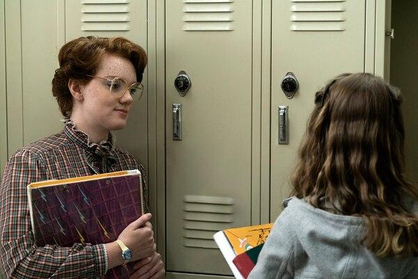 Shannon Purser interpreta a Barbara. Curtis Baker, cortesía de Netflix.