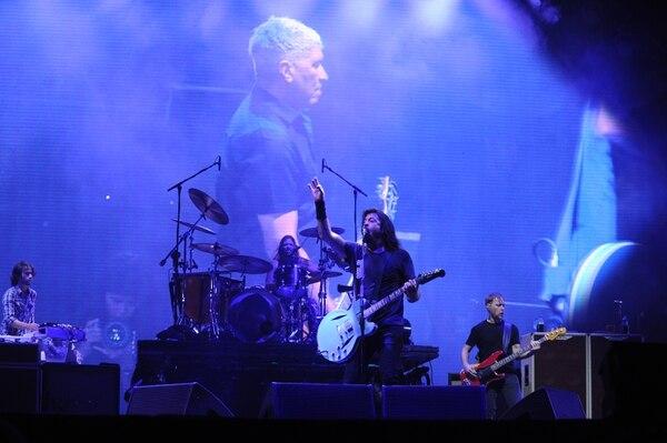 El grupo visitó el país como parte de su extenso tour promocional del disco 'Concrete & Gold'. Foto: Jorge Navarro