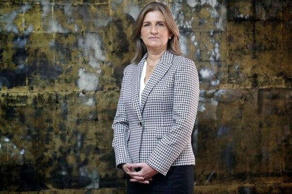 La fiscala general, Emilia Navas, ocupa el cargo oficialmente desde el lunes 12 de marzo. Foto: John Durán/Archivo