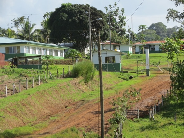 El proyecto anulado procuraba la extracción de 800.000 onzas de oro de Crucitas, en Cutris de San Carlos, Alajuela.   CARLOS HERNÁNDEZ /ARCHIVO LN