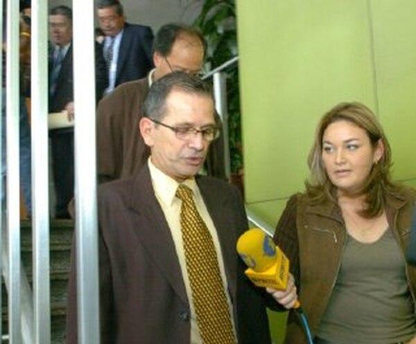 Mario Arias Murillo fue despedido sin responsabilidad patronal por la CCSS, en el 2008, junto a otros seis funcionarios del hospital. | ARCHIVO