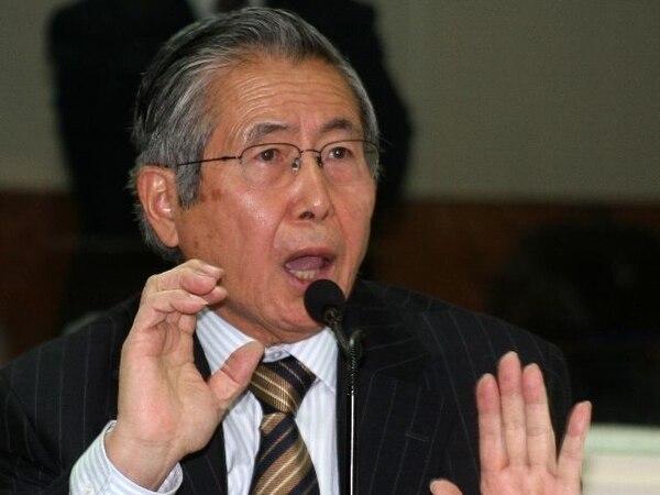 El expresidente Alberto Fujimori cumple una condena de 25 años por violación a los derechos humanos. | AFP