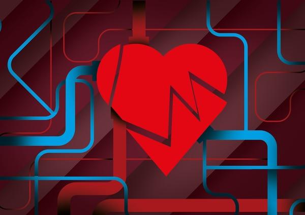 Los corazones de las personas cada vez más jóvenes comienzan a sufrir con infartos. Lo mismo sucede con los derrames cerebrales. Ilustración: Archivo