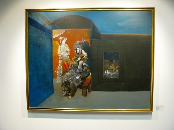 Reconocido.Rafael Rafa Fernández está presente con obras realizadas en los años 70.Steven Kropp para La Nación