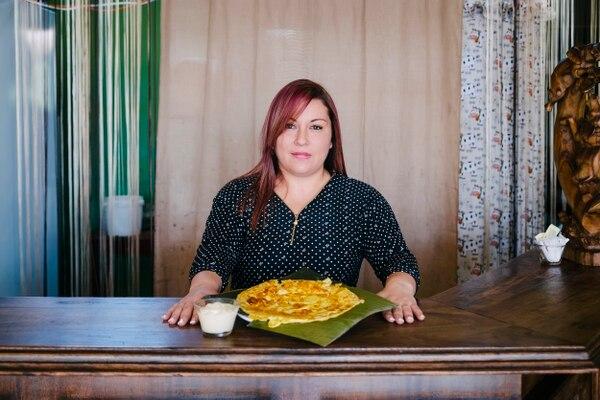 Karen Sojo es la dueña de Tortillería la Jacaranda, un negocio que está disponible en la aplicación de Uber Eats.