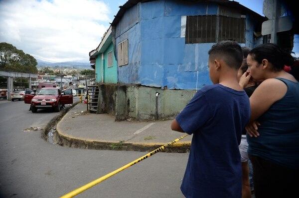 El panadero asesinado en Tirrases tenía antecedentes por daños, agresión e infracción a la ley de armas, según la Policía Judicial. Foto de: Diana Méndez.