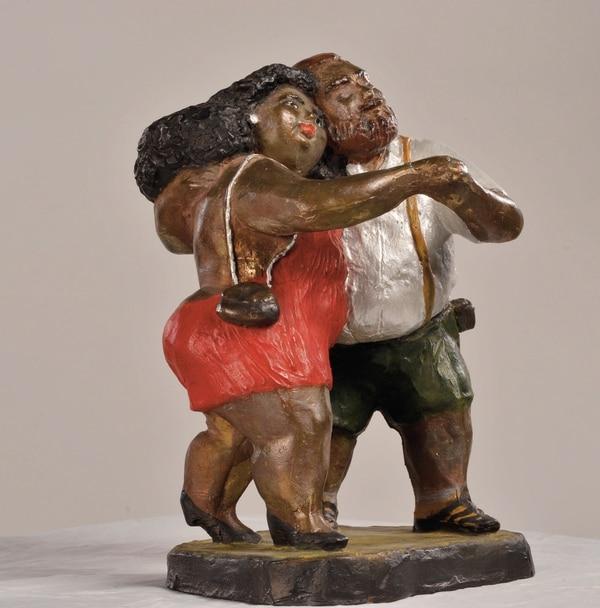 Una obra de Leda Astorga.
