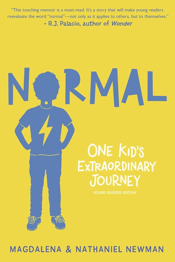 La portada de 'NORMAL: One Kid's Extraordinary Journey' (2020), uno de los libros escritos por Nathaniel Newman y su madre Magda. Archivo