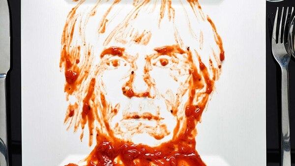 Andy Warhol fue hecho con sopa Campbell's para destacar su obra: 32 Latas de Sopa Campbell's.