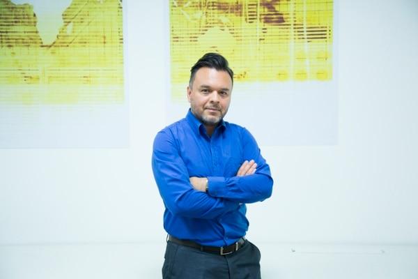 Asdrúbal Jiménez, mente detrás de Xpositive. (Foto: Mauricio Monge para LN)