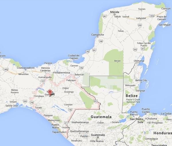 Tres inmigrantes de Bangladesh fueron introducidos a México por un presunto traficante de personas guatemalteco.
