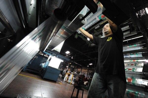 El 46% de las grandes compañías industriales esperan un aumento de su producción este año, en el 2014; era el 66%. | JORGE CASTILLO/ARCHIVO