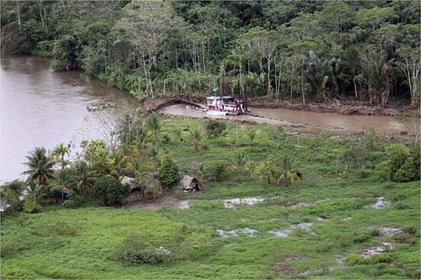 La isla Calero ha sido centro de conflicto entre Costa Rica y Nicaragua. Foto: Archivo