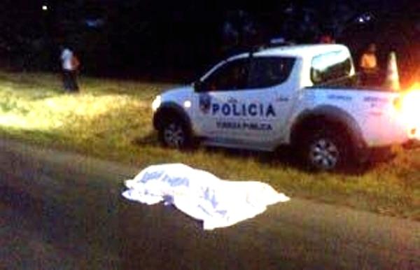 Un panameño de apellidos Pérez González, fue asesinado a las 7:59 p. m. de este miércoles en Paso Canoas, frontera sur.