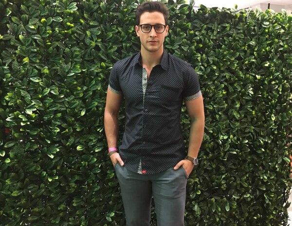 Doctor Mike participó en la quinta edición del Mercedes-Benz Fashion Week San José, en el 2017, como invitado y embajador internacional de la marca John Howard. Fotografía: Archivo GN.