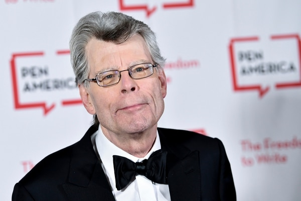 FILE - In this May 22, 2018 file photo, PEN literary service award recipient Stephen King attends the 2018 PEN Literary Gala at the American Museum of Natural History in New York. A Maine newspaper that horrified author Stephen King by dropping its local book review coverage is using his complaint to boost digital subscriptions. King on Friday, Jan. 11, 2019, complained about the Portland Press Herald's decision to stop publishing freelance-written reviews of books about Maine or written by Maine authors and urged his 5.1 million Twitter followers to retweet his message.(Photo by Evan Agostini/Invision/AP, File)