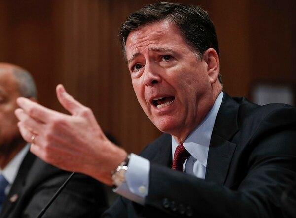 El director del FBI, James Comey, compareció el 27 de setiembre a una audiencia en el Congreso en Washington.