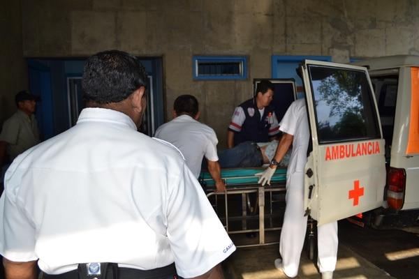 El accidente laboral ocurrió la tarde de este sábado en Aguirre.
