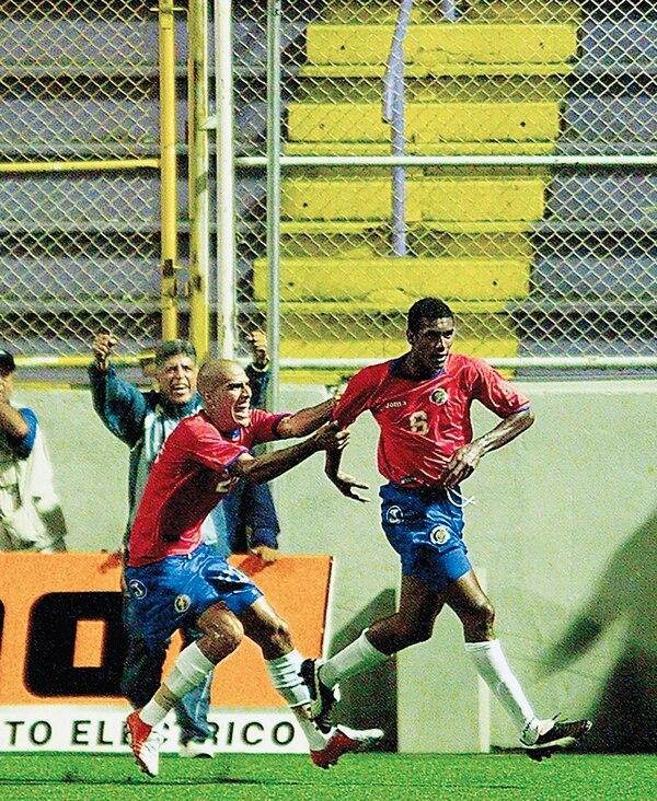Roy Myrie salvó a Costa Rica en el cierre ante Panamá en el 2005.