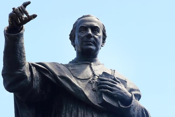 19/01/2021 19/01/2012 En la catedral se encuentra la estatua del Obispo Bernardo Augusto Thiel de la fecha de 1923. foto Alonso Tenorio