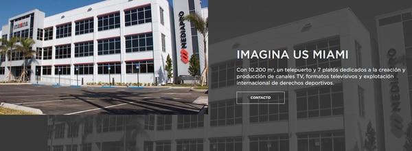 Así anuncia Media Pro en su página de Internet a Imagina US.