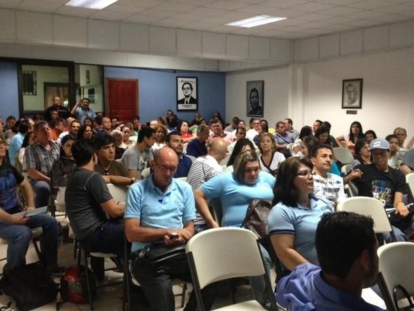 Movimiento sindical anuncia paro para este 25 de junio. Foto: Alberto Barrantes