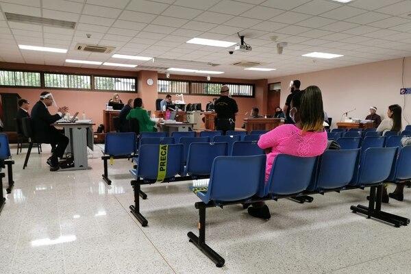 Este lunes 15 de junio inicio en Pococí el juicio por el crimen de la turista española Arantxa Gutiérrez López. Fotos de Reiner Montero