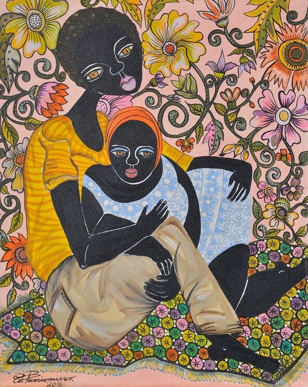 Trabajo de la artista Eugenia Barrionuevo. Foto cortesía del INA