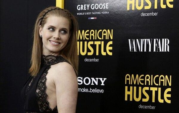 Amy Adams dormía cuando se anunciaron los nominados al Óscar, y la despertó la buena noticia de su postulación a mejor actriz por 'American Hustle'. | ARCHIVO