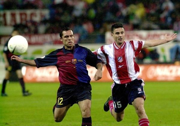 El Atlético de Madrid le ganó al Barcelona el juego de ida 3-0. | ARCHIVO