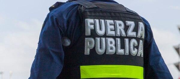 Durante 1996, el Ministerio de Seguridad Pública estableció la creación de la Fuerza Pública de Costa Rica, una Dependencia del Ministerio que reorganizó algunos cuerpos policiales, eliminando la Guardia Civil, Guardia de Asistencia Rural, Policía de Proximidad y los soldados fronterizos. Foto: Alejandro Gamboa