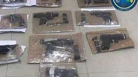 Policías sacaron de las calles 630 armas en la provincia de Limón