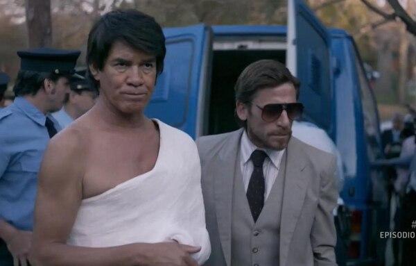 """Jorge Román, quien interpreta al boxeador en su etapa adulta, le dijo a CNN: """"Monzón está marcado por la tragedia. Eso se agudiza cuando deja el boxeo y a partir de ahí se potencia su adicción con la droga. Era la crónica de una muerte anunciada"""". Foto Netflix"""