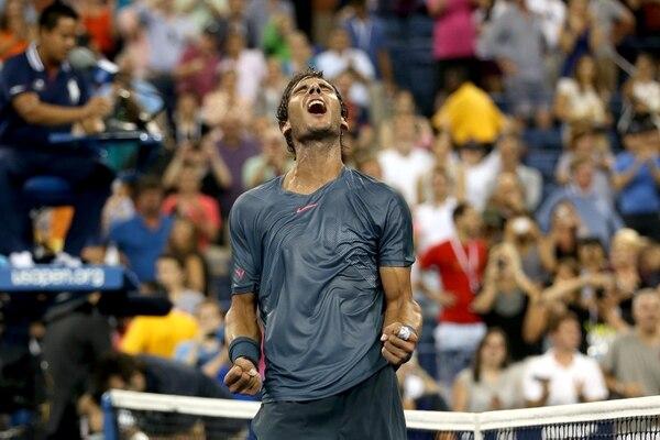 Rafael Nadal venció al español Philipp Kohlschreiber.