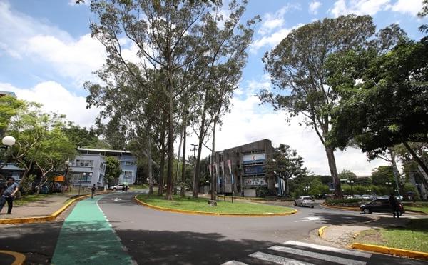 Sede central de la Universidad de Costa Rica (UCR) en San Pedro, Montes de Oca. Fotografia: Graciela Solis