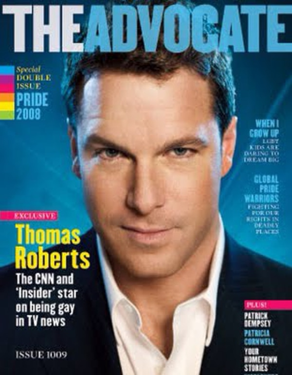 Thomas Roberts trabaja como periodista en