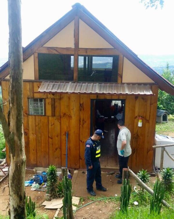 En esta cabina fue donde ocurrió el homicidio.