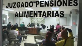 Papá paga pensión de ¢9 millones desde 2018 por un atraso judicial
