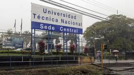 UTN corre a realizar acomodo presupuestario ante faltante de ¢1.180 millones para becas