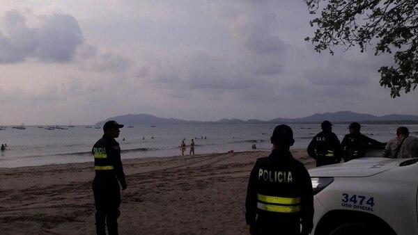 Los ultrajes contra dos mujeres ocurrieron en un lapso de seis meses en playas del Coco. La Fuerza Pública realiza operativos regularmente en esa playa.