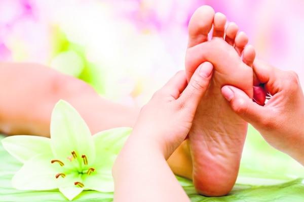 Reflexología es una forma de sanar el cuerpo y la mente