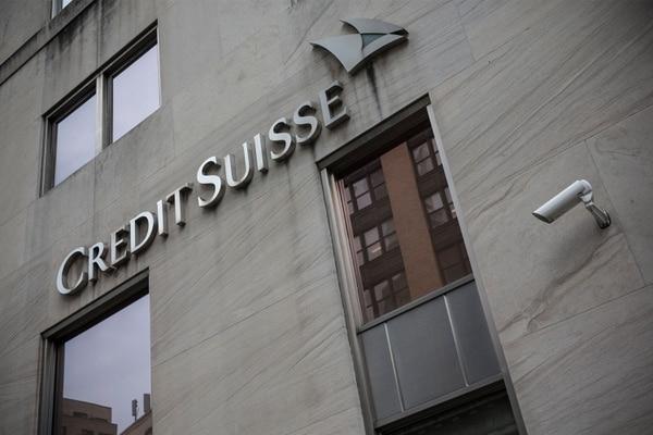 Estas son las oficinas del banco Credit Suisse AG en Nueva York, en la avenida Madison.